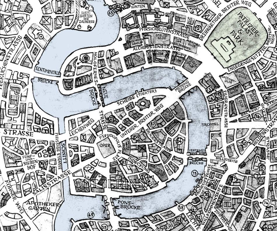 Karte Ankh Morpork Terry Pratchett Und Die Scheibenwelt Auf Www